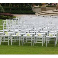 Buy cheap wholesale Good quality white resin chiavari chair strong and cheap resin chiavari chair for wedding/party outdoor use from wholesalers