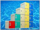 Wholesale Gymnasium Fitness Center Lockers With On - Site Assembly 4 Comparts 1 Column from china suppliers