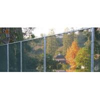 Wholesale ASTM 392 standard chain link fence with accessories for border fencing from china suppliers