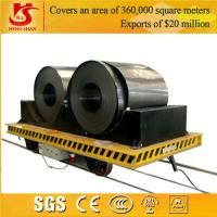 Wholesale Industrial Rail Mounted Coil Transfer Trailer For Carrying Rolled Steel from china suppliers