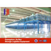 Wholesale Blue Pallet Rack Mezzanine Systems , Multi tier Platform Racking from china suppliers