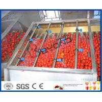 Wholesale Tomato Processing Machinery Tomato Processing Line For Tomato Juice / Tomato Paste Production from china suppliers