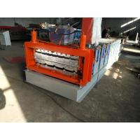Wholesale Simple Type Double Layer Roof Panel Roll Forming Machine / Roof Tile Roll Forming Machine from china suppliers