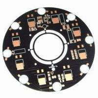 Wholesale Aluminum base PCB with OSP Surface Finish, 1oz Copper and 1.6mm Board Thickness from china suppliers