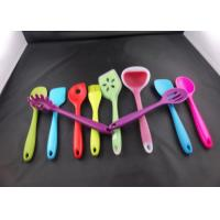 Buy cheap 100% food-grade silicone material FDA promotional silicon kitchenware soup serving spoon from wholesalers