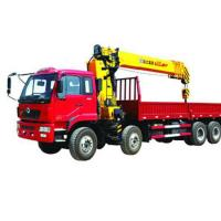 Wholesale Mobile Telescopic Boom Truck Crane , 16T 80 L/min Oil Flow from china suppliers