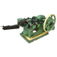 Buy cheap Customized Low Carbon Steel Wire Nail Machine With Horizontal Layout , ISO-9001 Approved from wholesalers