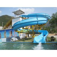 Wholesale Ourdoor Sport Places Swimming Pool Slides Durable Structure IS09001 from china suppliers