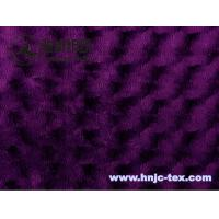 Wholesale 100% polyester twisted flower ultra cuddle soft velboa fabric for home textile eps sofa from china suppliers