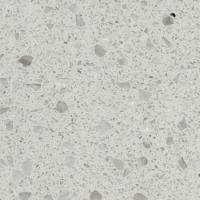 China Construction White Terrazzo Tile  Durable Ware Impervious Stain Damage Proof on sale