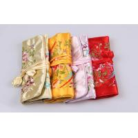 Wholesale Beautiful Embroidery Jewelry Bundle Type Travel Organizer Bag of Bright Silk from china suppliers