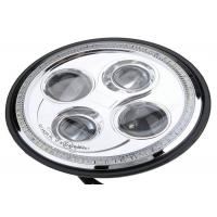 Wholesale OSRAM LEDs 7 Inch Round Jeep Wrangler Headlights Die Cast Aluminum Alloy Housing from china suppliers