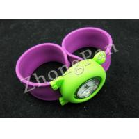 Wholesale Eco friendly promo products custom colorful sport slap Ion silicone wristband watches waterproof for kids and adults from china suppliers