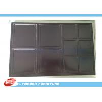 Wholesale Shop Chocolate engraved Wood Display Accessory For MDF Display Stand from china suppliers