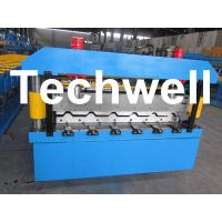 Quality Cover 686mm Chromadeck IBR Sheet Making Machine for IBR Roof Sheet for sale