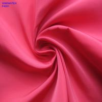 Wholesale F4201 100% polester imitation memory fabric two tones with wr pu coating for jacket from china suppliers