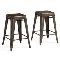 Professional marais cafe restoration metal tolix chairs - Imitation tolix tabouret ...