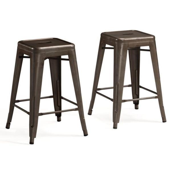 Professional marais cafe restoration metal tolix chairs tolix counter stool of item 99873098 - Marais counter stool ...