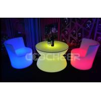 Wholesale Low Top Plastic Led Coffee Table Simple Style Romantic Led Glow Furniture from china suppliers