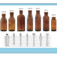 Wholesale Glass Bottles Amber 100ml from china suppliers