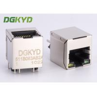 Wholesale 10/100 BASE 180 degree Rj45 Lan Jack vetical insertion ethernet connector factory from china suppliers