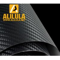 Wholesale Black 3D Carbon Fiber DIY Car Wrap Sheet Roll Film Sticker Vinyl Decal from china suppliers
