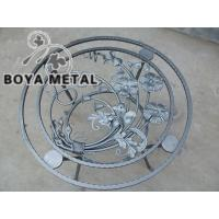 Wholesale Ornamental Wrought Iron Furnishing Cast Iron Table from china suppliers