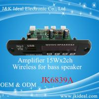 Wholesale JK6839A Professional amplifier bluetooth usb mp3 player for home stereo from china suppliers
