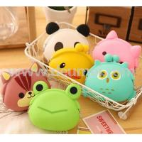 Wholesale Funny OWL Pattern Cartoon Animals Silicone Coin Purse Pouch Coin Bag for Kids from china suppliers