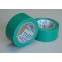 Quality Single Color PVC Shiny  Film Coated With Rubber-based Adhesive Tape Ideal For Floor Marking for sale