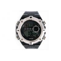 Wholesale Large Face Digital Watch Hourly Chime PU Electronic Watches For Man from china suppliers