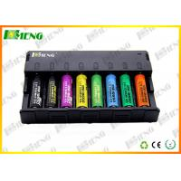 Wholesale LED Screen Cylindrical Lithium Battery Charger 8 Slots 215×132×40 mm from china suppliers