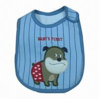 Wholesale Cotton Waterproof Babies Bib, Customized Colors Accepted from china suppliers