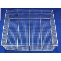 Wholesale SUS304 , SUS316 Stainless Steel Wire Mesh Basket / Metal Basket For Chemical from china suppliers
