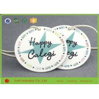 Wholesale White Art Paper Custom Printed Hang Tags Germent Paper Tags With String from china suppliers