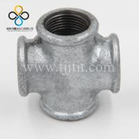 Wholesale 180 Hot dip galvanized malleable cast iron pipe fitting crosses beaded with ribs made in china from china suppliers