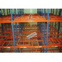 Wholesale Metal Push Back Rack Industrial Storage Shelves Racks ISO R - Mark Certificated from china suppliers
