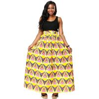 Wholesale Wax Printed Kitenge Fabric Long African Print Skirts Wear Comfortable Anti Static from china suppliers