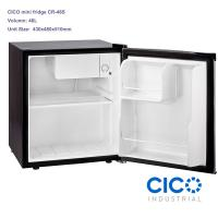Wholesale Single Door Mini Worktop Fridge , Small Office Refrigerator With Lock from china suppliers