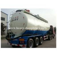 Wholesale Stainless Steel / Aluminum 40cbm to 70cbm Tri axle cement tank trailer with 2 tool boxes from china suppliers