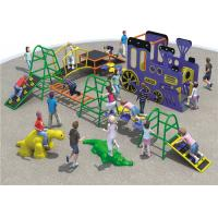 Buy cheap Kaiqi Custom Playgrounds Olympic Train Series Food Grade For Kindergarten School from wholesalers