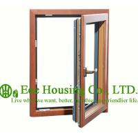 Wholesale Casement Wood Clad Aluminum Window with Insulating Double Glass For Villas,Inside Opening from china suppliers