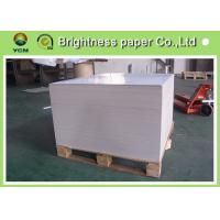 Wholesale Thick Shopping Bag Paper , Coated Recycled Board Paper For Making Boxes from china suppliers