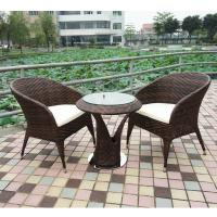 Wholesale high quality outdoor/garden furniture rattan table and chair from china suppliers