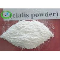 Wholesale Men Sex Steroid Hormones Tadalafil / Cialis For Treat Erectile Dysfunction , 99.0% Purity from china suppliers