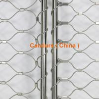 Quality Stainless Steel Wire Rope Mesh Frame Panels For Railing Systems for sale