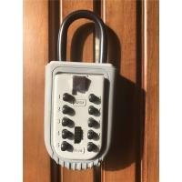Wholesale High security Push Button Protable Key Lock Box for Real Estate from china suppliers