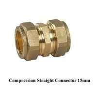 Wholesale compression fitting straight 15mm for copper pipe from china suppliers