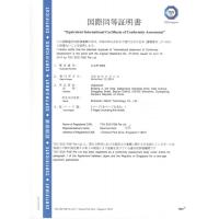 Goochy (HK)  Industrial  Co., Limited Certifications