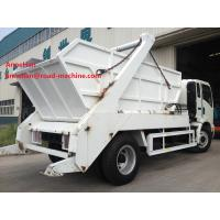 Wholesale EuroIII 4x2 HOWO brand Light Hork Arm Garbage Truck Collection 5M3 Q235 Material 190HP from china suppliers